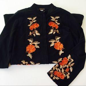 🆕XCVI Embroidered Floral Jacket
